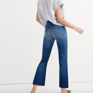Madewell Jeans - Madewell cali demi-boot jeans: unpatched edition